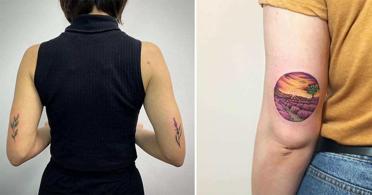20 Elegant Ideas for Your Unique Lavender Tattoo